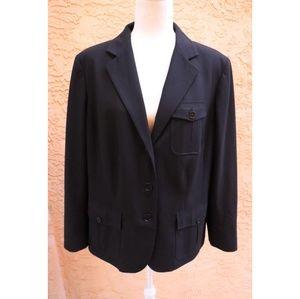 Lauren Ralph Lauren | black blazer jacket size 14w